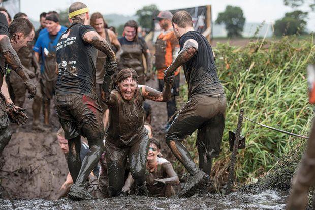Tough Mudder contestants