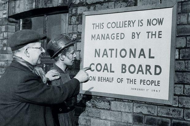 Nationalised coal