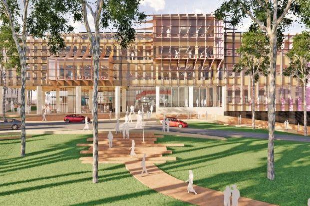 Architect's conception of Newcastle's proposed STEMM precinct