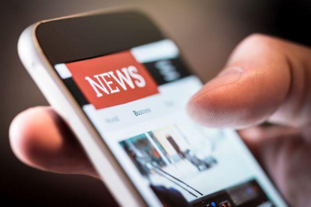 News on smartphone