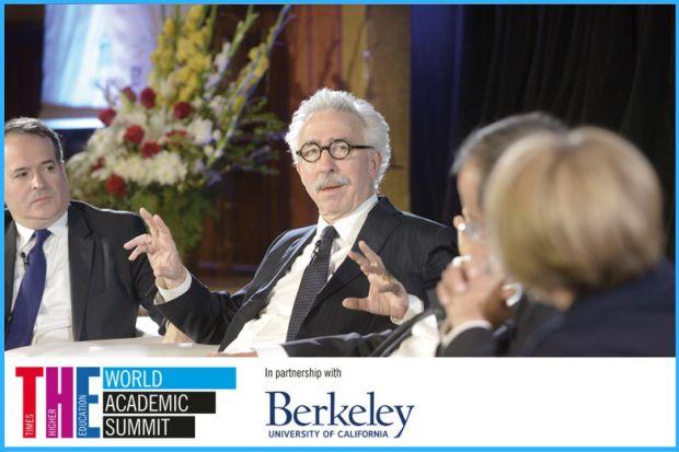Nicholas Dirks at the World Academic Summit in Berkeley 2016