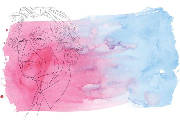 Noam Chomsky portrait