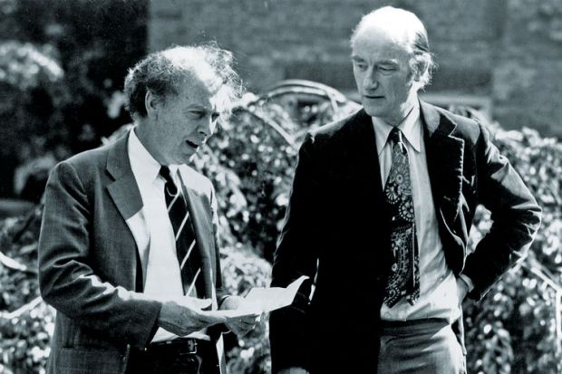 Nobel Prize winners James Watson and Francis Crick