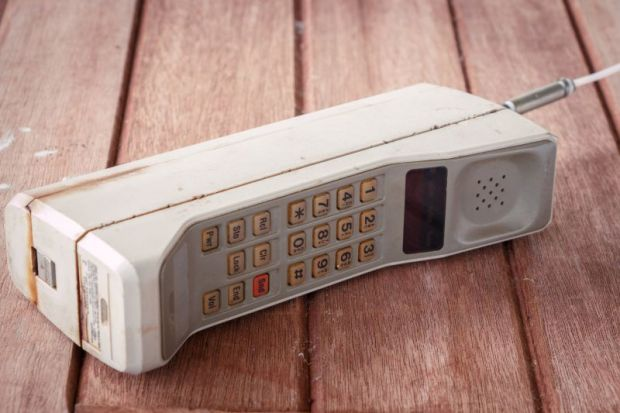 Old brick mobile phone