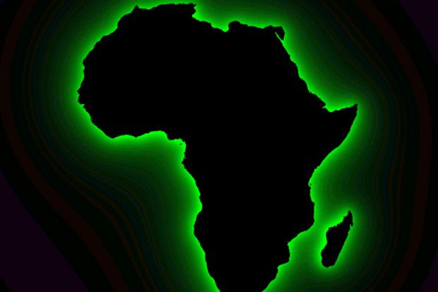Image of African continent