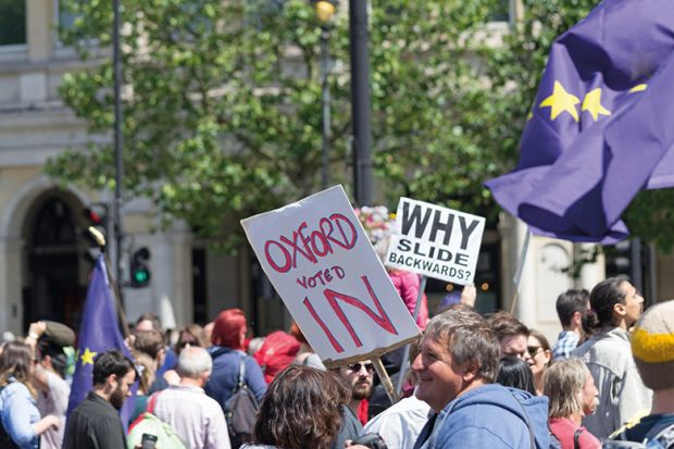 Oxford voted in demonstrators