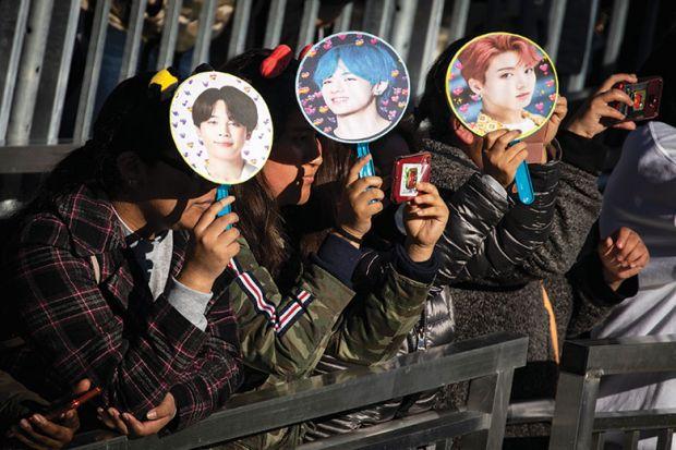 BTS fans