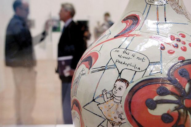 Perry won the Turner Prize in 2003 for his exquisite but disturbing pots
