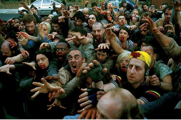Film still from Shaun of the Dead