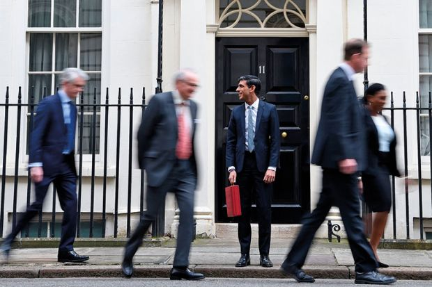 'Investing in ideas': new chancellor Rishi Sunak has pledged that UK research spending will hit £22 billion by 2024-25