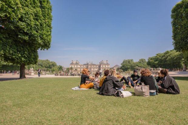 Paris students