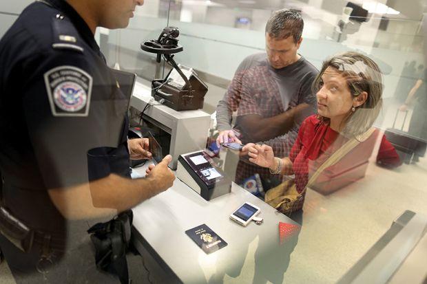 airport passport control immigration