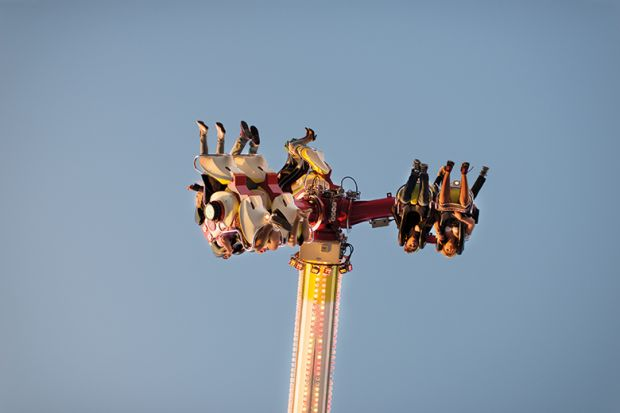 people face upside down ride