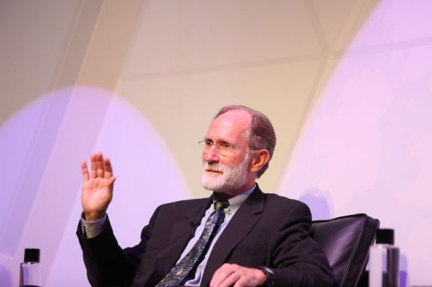 Peter Agre at World Academic Summit