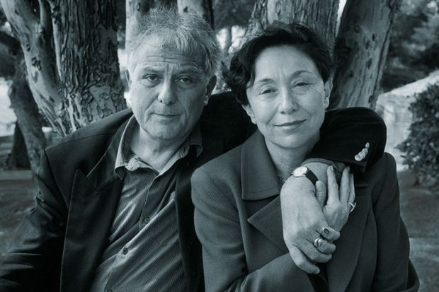 Philippe Sollers and Julia Kristeva, Cassis, France, 1998