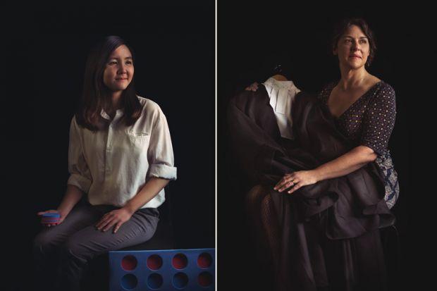 Photographic portraits, Twelve Women in Academia exhibition, University of Sussex