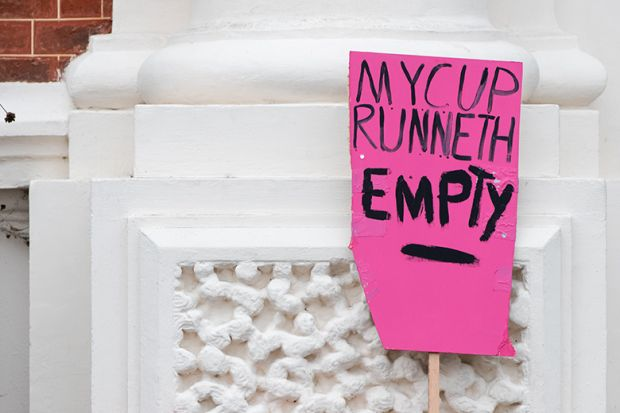 Strike placard