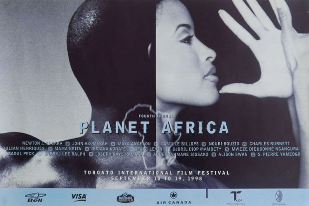 Planet Africa promotional poster