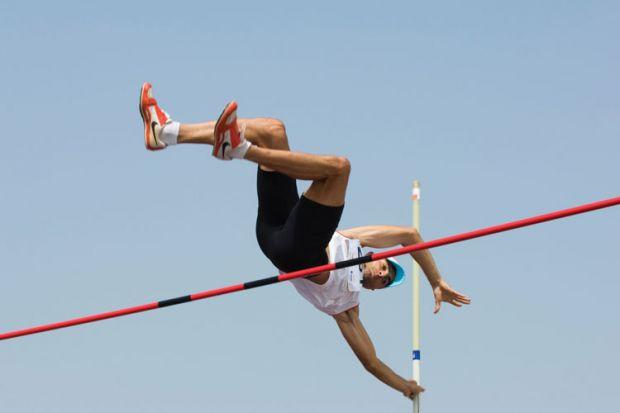 Pole vaulter, Francophone Games, Beirut, Lebanon, 2009
