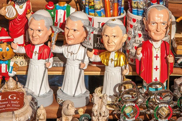 Pope toys