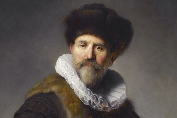 Portrait of Nicolaes Ruts, by Rembrandt Harmenszoon van Rijn