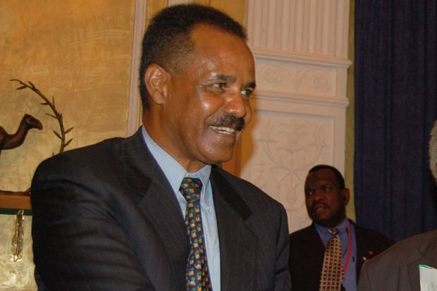 President Isaias Afewerki of Eritrea