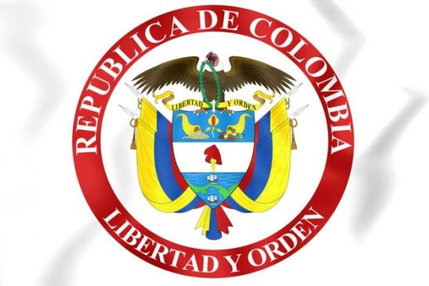 Presidential seal of Colombia