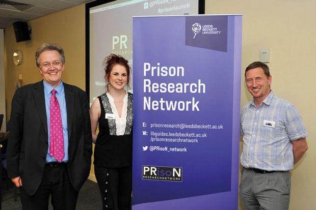 Prison Research Network launch: Nick Hardwick, Helen Nichols, Bill Davies