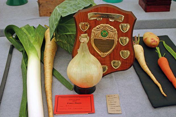 Prize vegetables