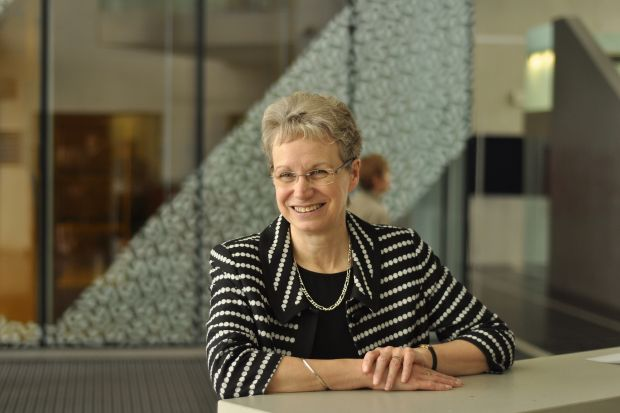 Judith Petts, vice-chancellor of Plymouth University