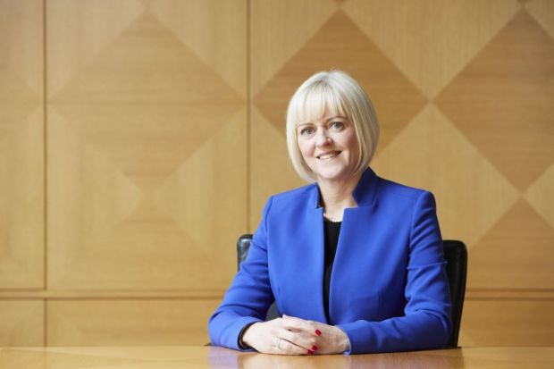 University of Exeter vice-chancellor and chief executive Professor Lisa Roberts