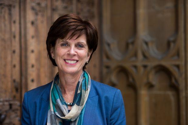 Profesora Louise Richardson - Las 10 mejores universidades dirigidas por mujeres.