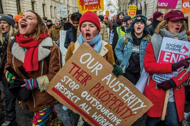 Charming Pensions Strike U0027poisons Relationsu0027 On UK Campuses