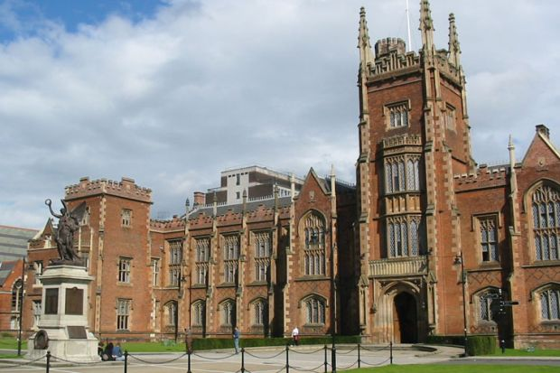 Queen's University Belfast campus building