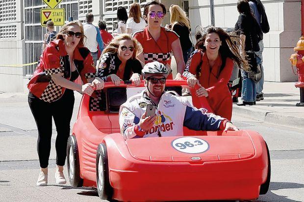 racecar push
