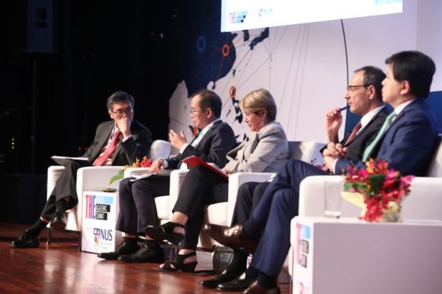 Research universities panel at 2018 WAS