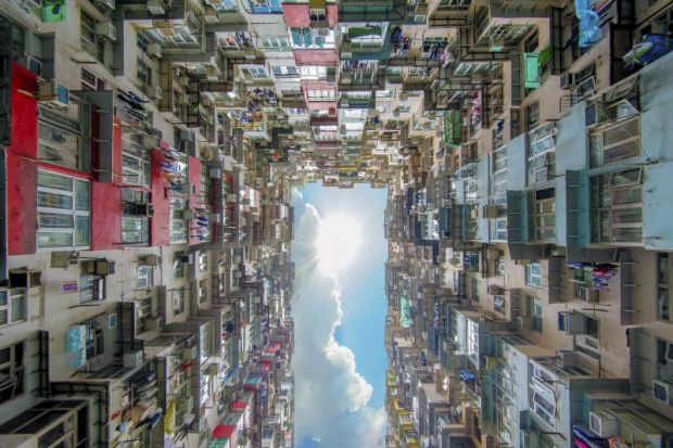 Residential apartments in Hong Kong