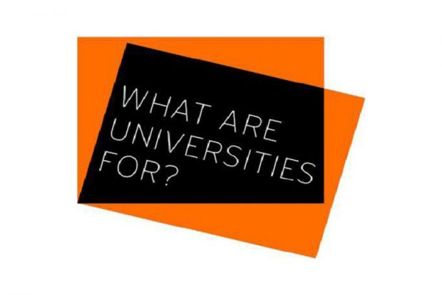 Review: What Are Universities For?, by Stefan Collini