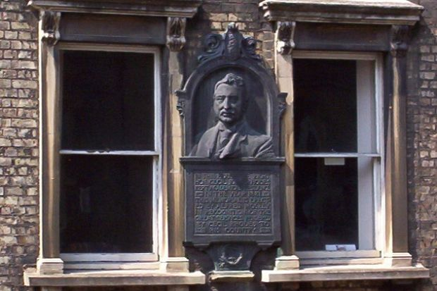 Rhodes Oxford plaque