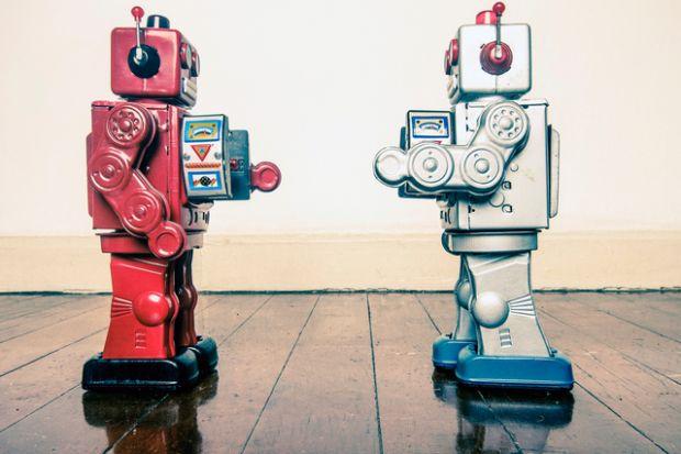 Robot face-off