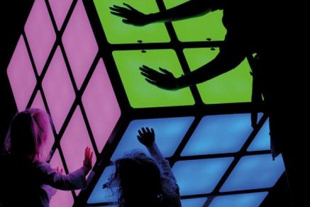 Giant Rubiks cube