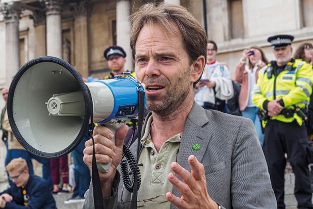 Rupert Read tries to use his work outside the academy to help make the world a better place