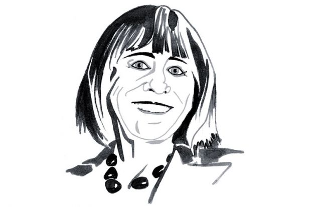 Sally Feldman columnist illustration