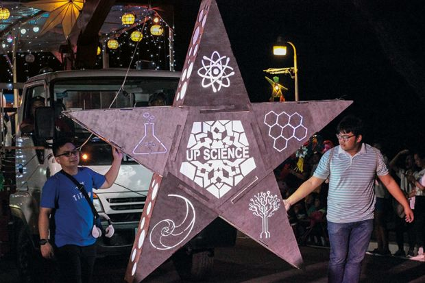 The lantern parade
