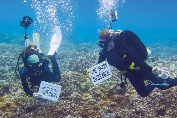 scientist divers