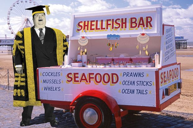 Shellfish bar