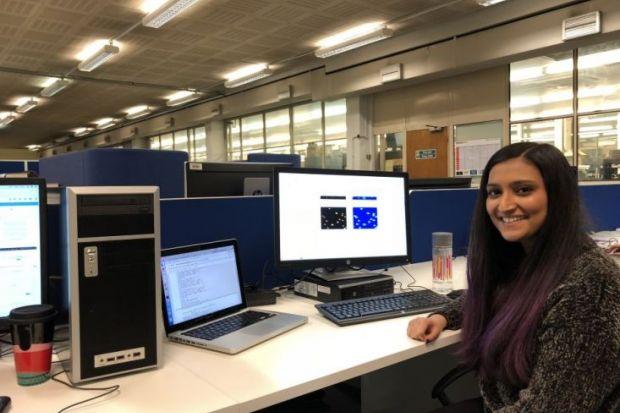 Selina Dhinsey, women in engineering, STEM, university, student, PhD