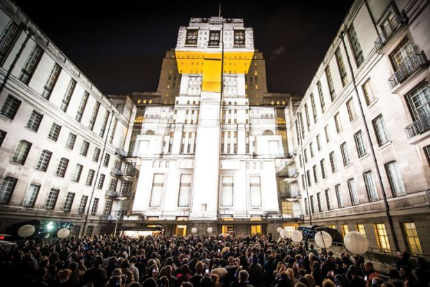 Senate House, London, Arthur Guinness, Arthur's Day celebrations, 2012