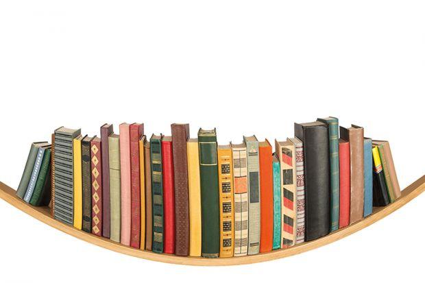 Sagging shelf