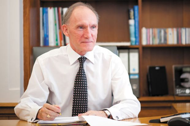Interview: Sir David Greenaway, Russell Group, University of Nottingham